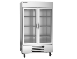 "Beverage Air HBF44-1-G  Horizon Series 47"" Stainless Steel Freezer Glass Door - Summit Restaurant Supply"