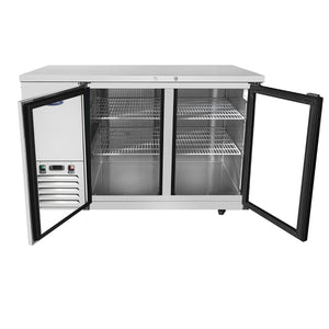 Atosa MBB59G Glass Back Bar Cooler