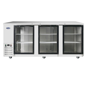 Atosa MBB90G Glass Back Bar Cooler