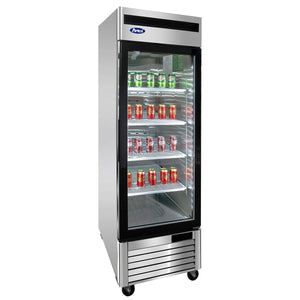 Atosa MCF8701 Merchandiser Freezer Bottom Mount Single Door