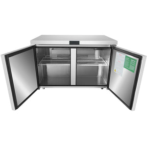 "Atosa MGF8402 48"" Under-Counter Refrigerator"