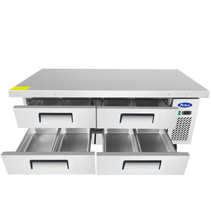 "Atosa MGF8454 72"" Extended Top Chef Base"