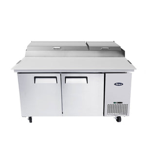 "Atosa MPF8202 67"" Commercial Pizza Prep Table"