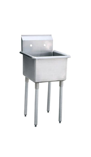 Atosa MRSA-1-MOP  : Mop Sink 18x18x13 deep - Summit Restaurant Supply