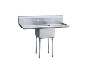 Atosa MRSA-1-D  Single Compartment Sink 18X18X12 (Bowl Size) - Summit Restaurant Supply