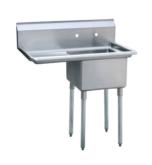 Atosa MRSA-1-L One Compartment Sink - Summit Restaurant Supply