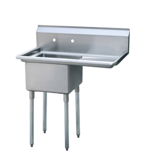 Atosa MRSA-1-R One Compartment Sink - Summit Restaurant Supply