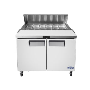 "Atosa MSF8302 48"" Commercial Sandwich Prep Table"