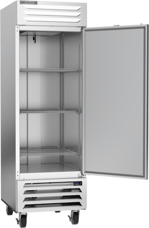"Beverage Air RB23HC-1S 27"" Vista Series Solid Door Reach in Refrigerator - 23 Cu. Ft. - Summit Restaurant Supply"