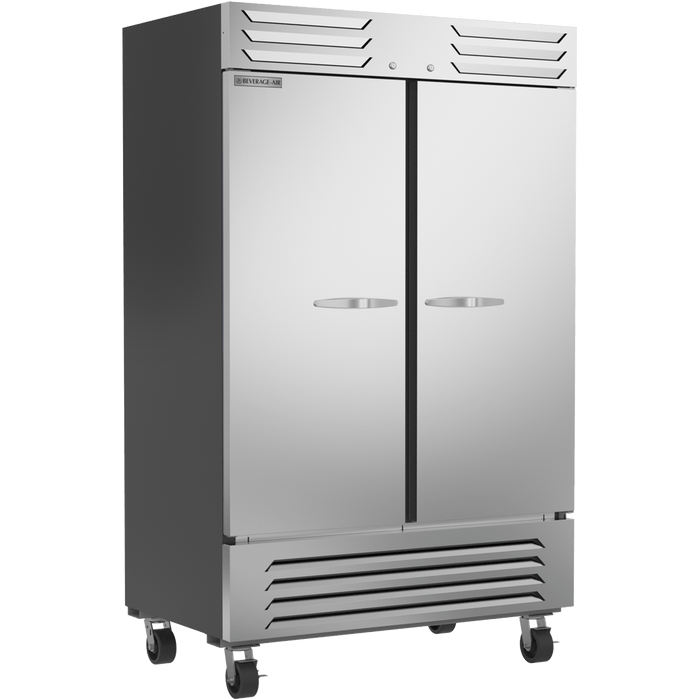 Beverage Air SF2HC‐1S Freezer 2 Door Reach-In Freezer
