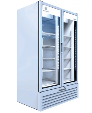 Beverage Air MT49-1W Marketeer™ Series 47 Inch 2 Door Refrigerated Merchandiser - Summit Restaurant Supply