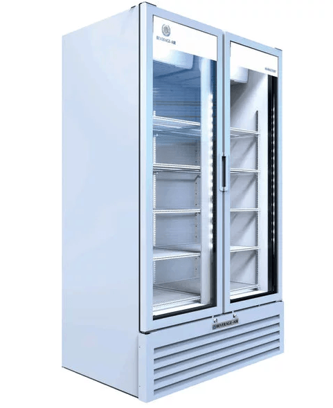 Beverage Air MT49-1W Marketeer™ Series 47 Inch 2 Door Refrigerated Merchandiser