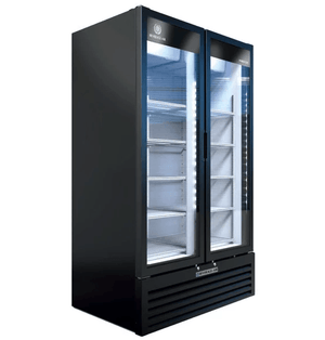 Beverage Air MT49-1B Marketeer™ Series 47 Inch 2 Door Refrigerated Merchandiser - Summit Restaurant Supply