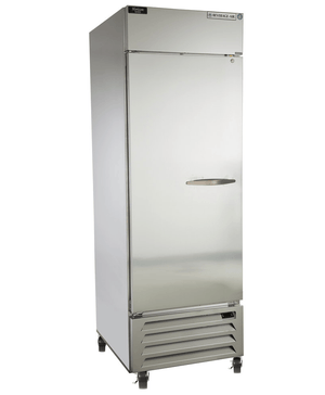 "Beverage Air HBR23HC-1  Horizon Series 27"" Stainless Steel Refrigerator - Summit Restaurant Supply"