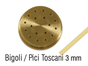 Bigoli Pasta Die #13, Bigoli/pici, 3mm - Summit Restaurant Supply