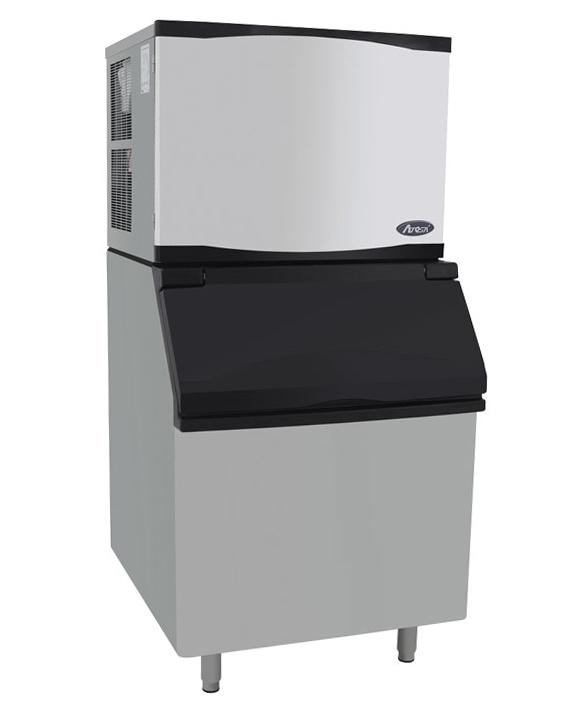 Atosa 810 lb per 24hr Ice Machine with 395 lb Bin YR800-AP-261