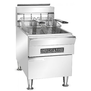 American Range AFCT-15 15 lb. Countertop Commercial Deep Fryer - Summit Restaurant Supply