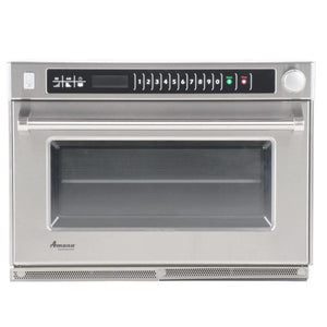 Amana AMSO22 2200w Commercial Steamer Microwave Oven