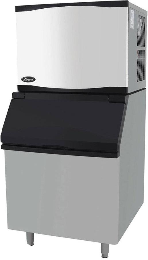Atosa 460 lb per 24hr Ice Machine with 395 lb Bin YR450-AP-161