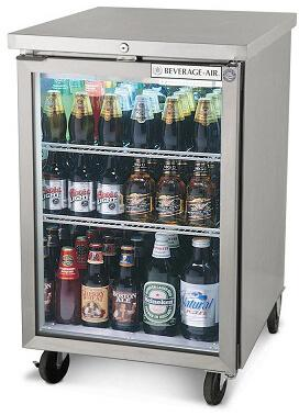 Beverage Air BB24HC-1-G-S Back Bar Refrigerator