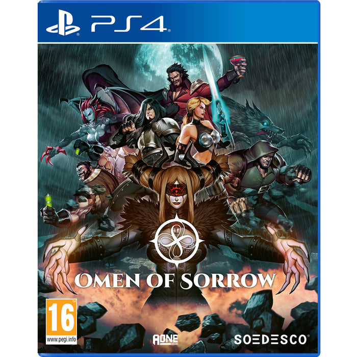 PS4 Omen of Sorrow (R2)