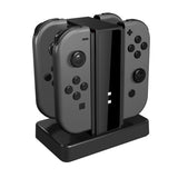 Lucky Fox Joy-Con Charge Stand for Nintendo Switch (Black)