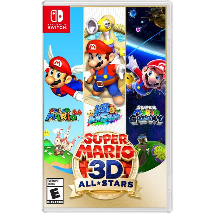 Nintendo Switch Neon Blue Red V2 with Nintendo Switch Super Mario 3D All-Star (PXT)