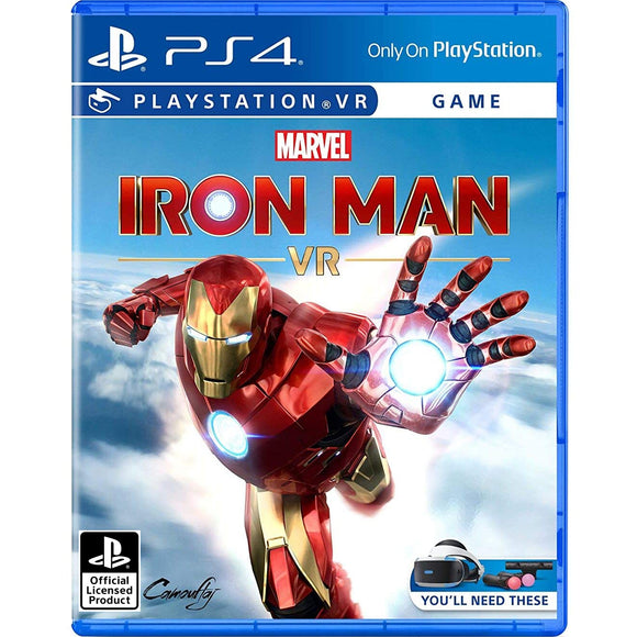 PS4 Marvel Iron Man VR (R3)