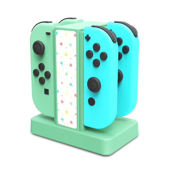 Lucky Fox Joy-Con Charge Stand for Nintendo Switch (Pastel Green)