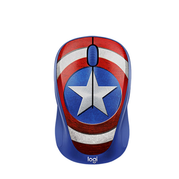 Logitech M238 Wireless Mouse-Captain America