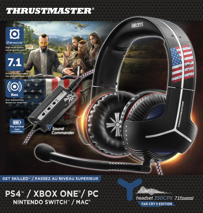 THRUSTMASTER Y350 CPX 7.1 Headset Far Cry 5 Edition