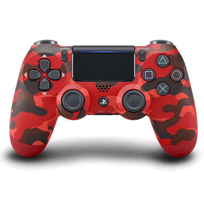 DUALSHOCK®4 Wireless Controller (Camouflage Red)
