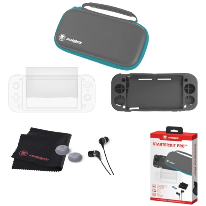 Snakebyte Starter Kit Pro for Nintendo Switch Lite - Turquoise