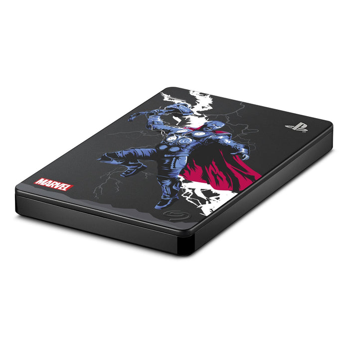 Seagate 2TB Marvel Avengers Game Drive For PS4 - Thor