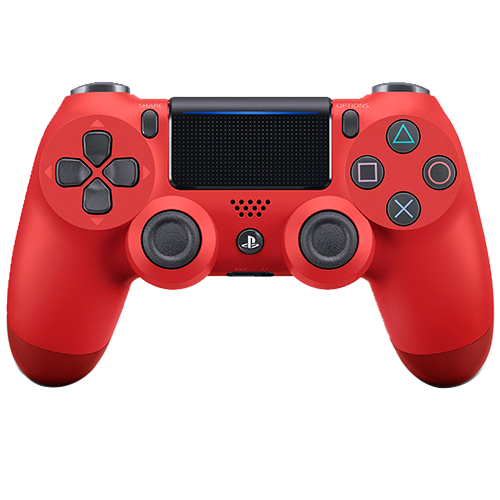 DUALSHOCK®4 Wireless Controller (Magma Red)