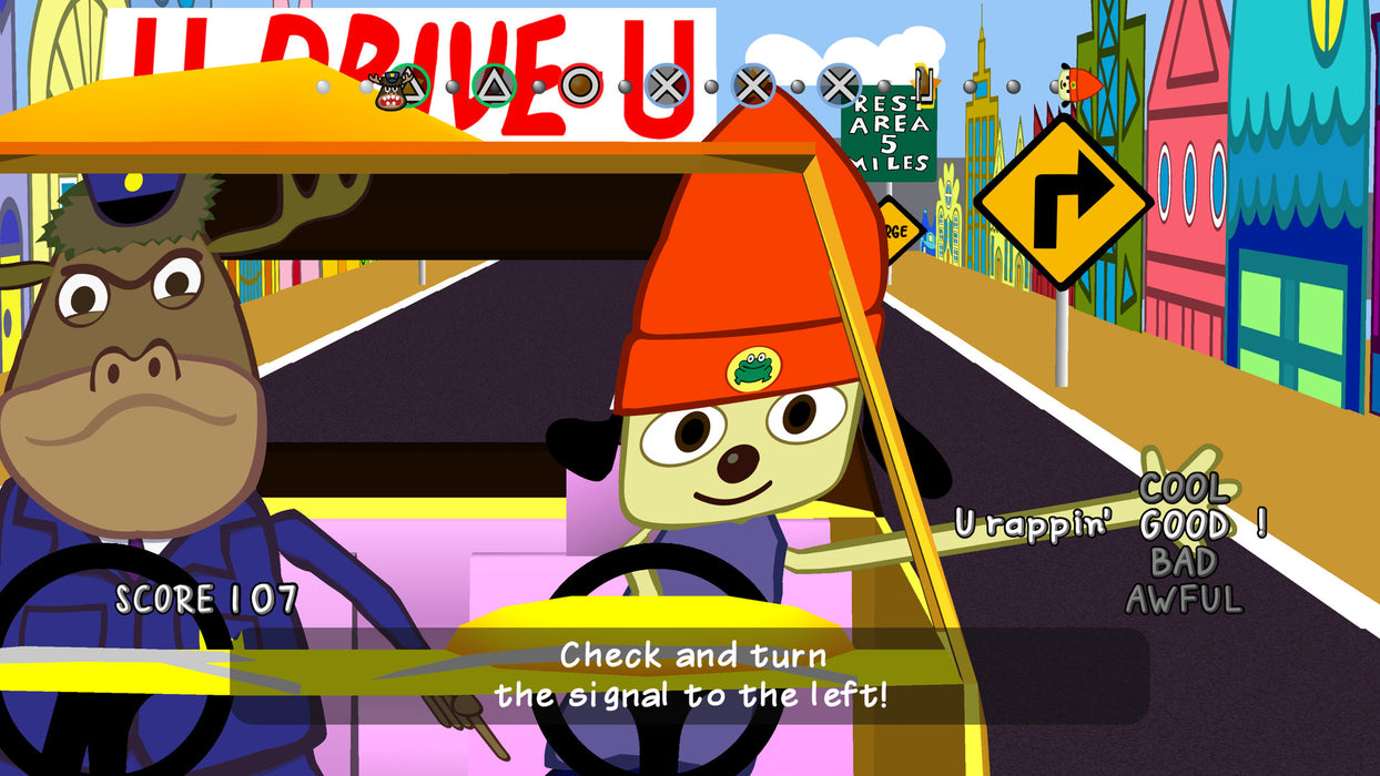 PS4 PaRappa The Rapper (R3)
