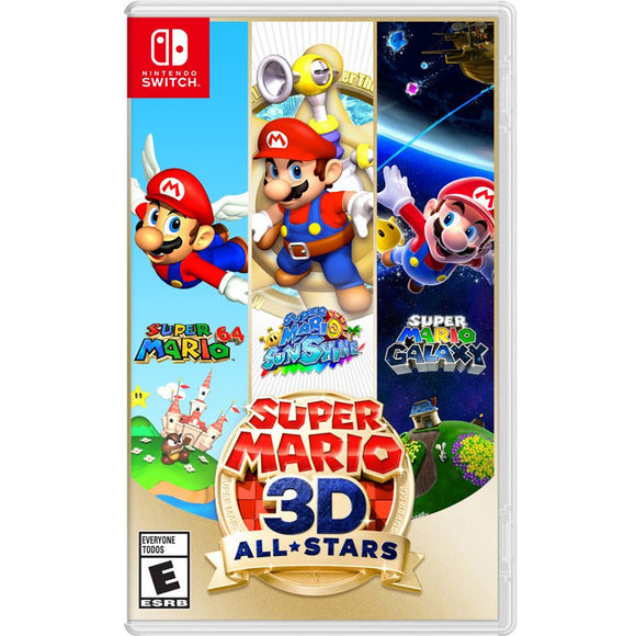 Nintendo Switch Super Mario 3D All-Star (MDE)