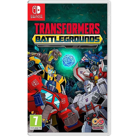 Nintendo Switch Transformers Battlegrounds (EU)