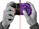 PDP Faceoff Deluxe Wired Pro Controller (Purple Camo) for Nintendo Switch