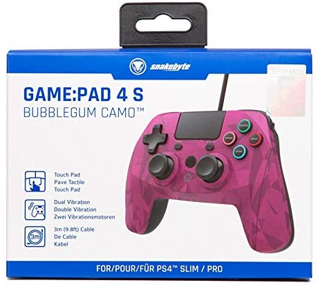 Snakebyte Gamepad Bubblegum Camo for PS4