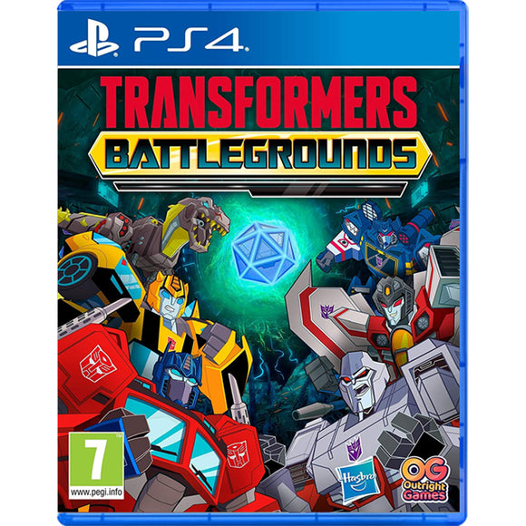 PS4 Transformers Battlegrounds (R2)