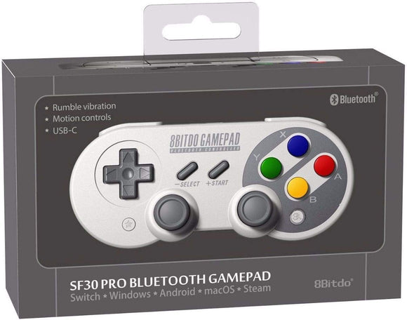 8Bitdo SF30 Pro Bluetooth Gamepad for Nintendo Switch