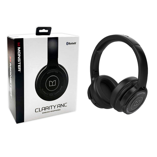 Monster Clarity ANC BT Headphone (Black)
