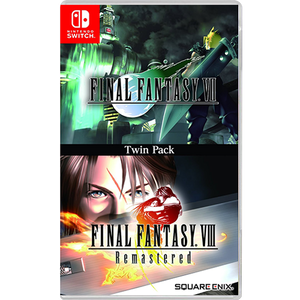 Nintendo Switch Final Fantasy VII/VIII Remastered Twin Pack