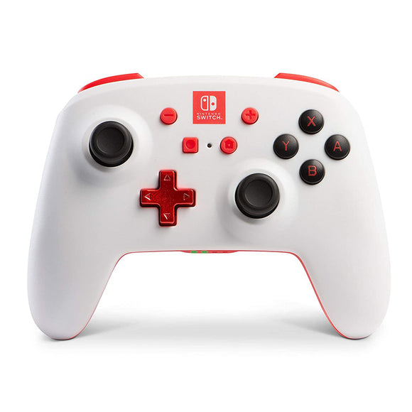 PowerA Enhanced Wireless Controller for Nintendo Switch – White