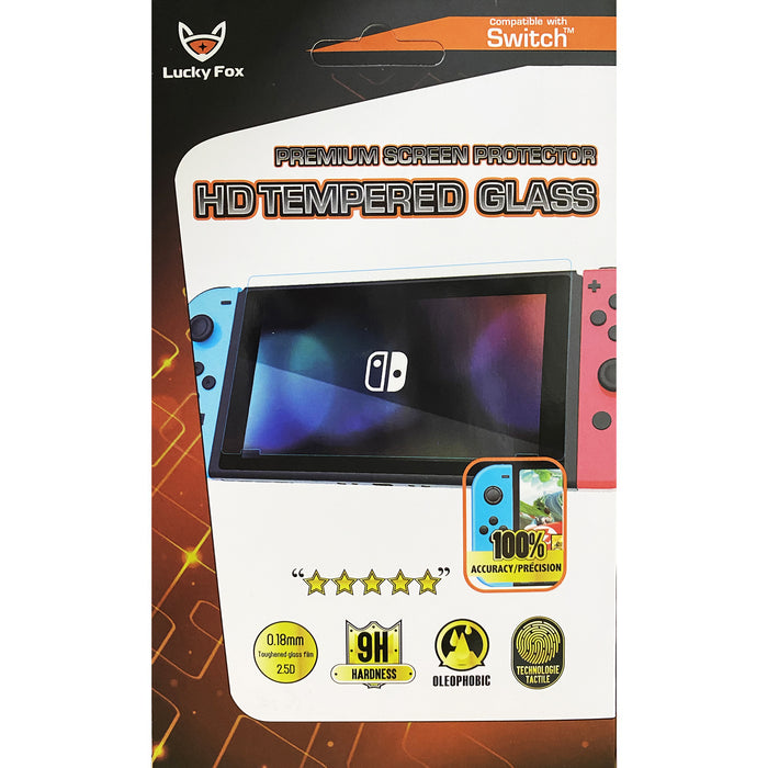 Lucky Fox Tempered Glass 9H for Nintendo Switch