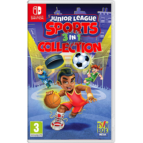 Nintendo Switch Junior League Sports 3 in 1 Coll.