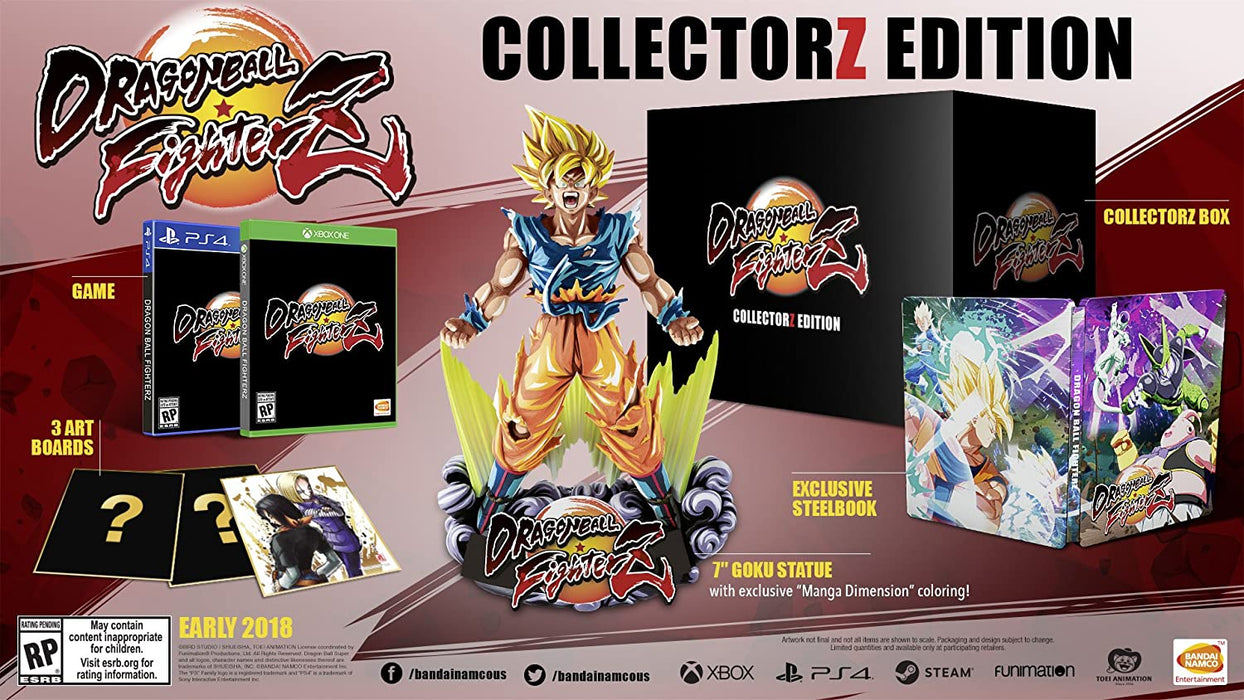 PS4 Dragon Ball FighterZ - Collectors Edition (R3)