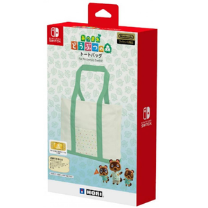 HORI Animal Crossing Tote Bag for Nintendo Switch (NSW-240A)