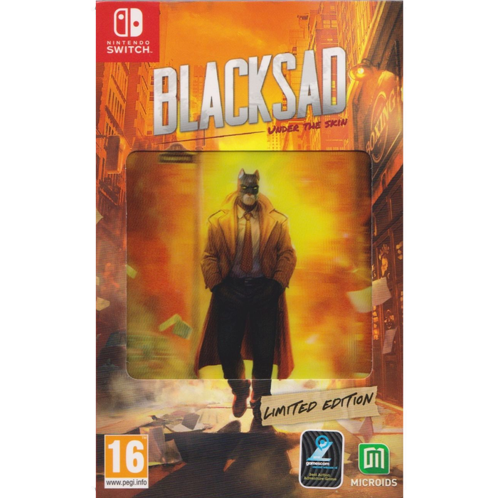 Nintendo Switch BlackSad Under The Skin Limited Edition (EU)